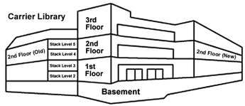 Image showing Carrier Library floorplans